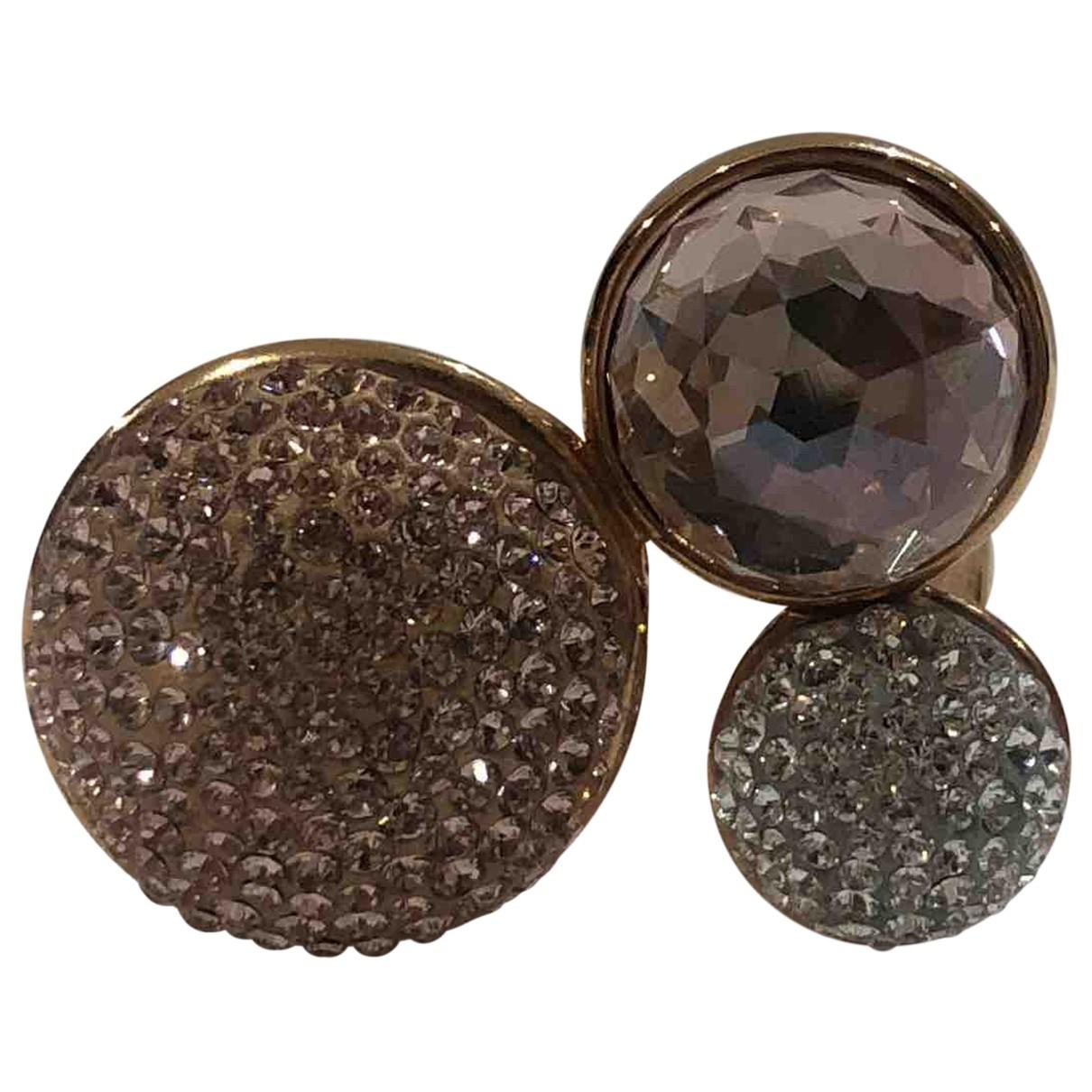 Swarovski - Bague Fit pour femme en plaque or - rose