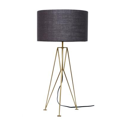 OD-1003-43 Nightingale Lamp with Brass Frame in Yellow