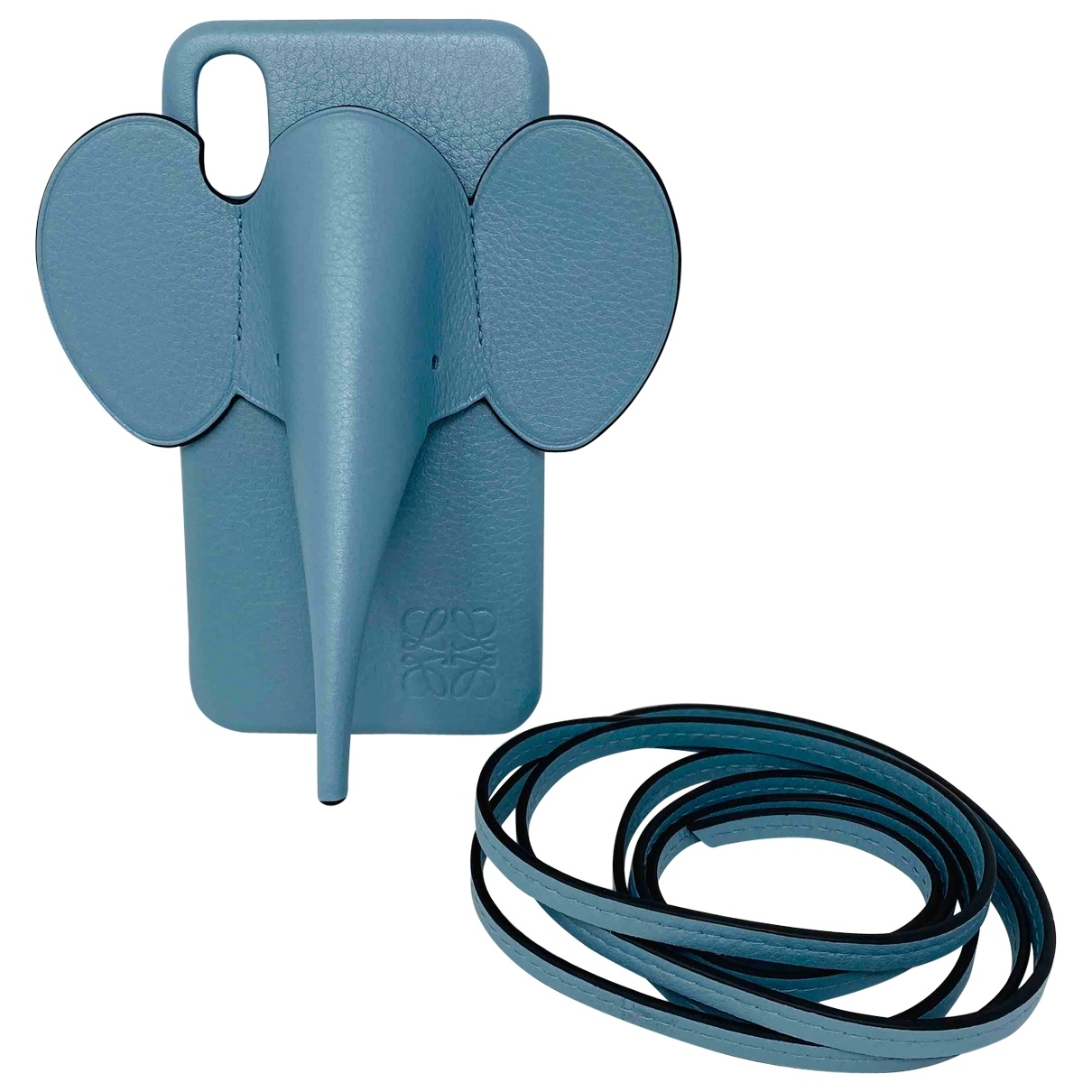 Loewe \N Accessoires in  Blau Leder