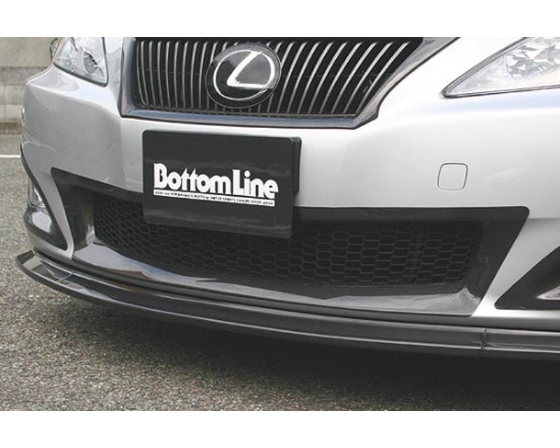 Charge Speed Bottom Line Front Bumper Center Cowl FRP (Japanese FRP) Lexus IS250/IS350 09-10