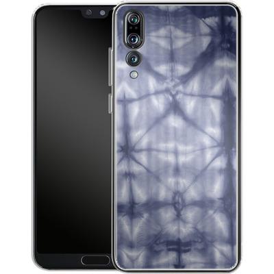 Huawei P20 Pro Silikon Handyhuelle - Tie Dye 2 Navy von Amy Sia