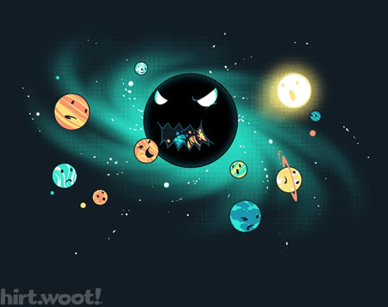 The Black Hole T Shirt