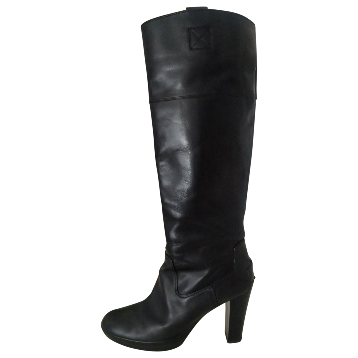 Tod's \N Black Leather Boots for Women 39 EU