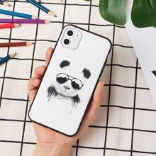 ROMWE x balazssolti Panda iPhone Case