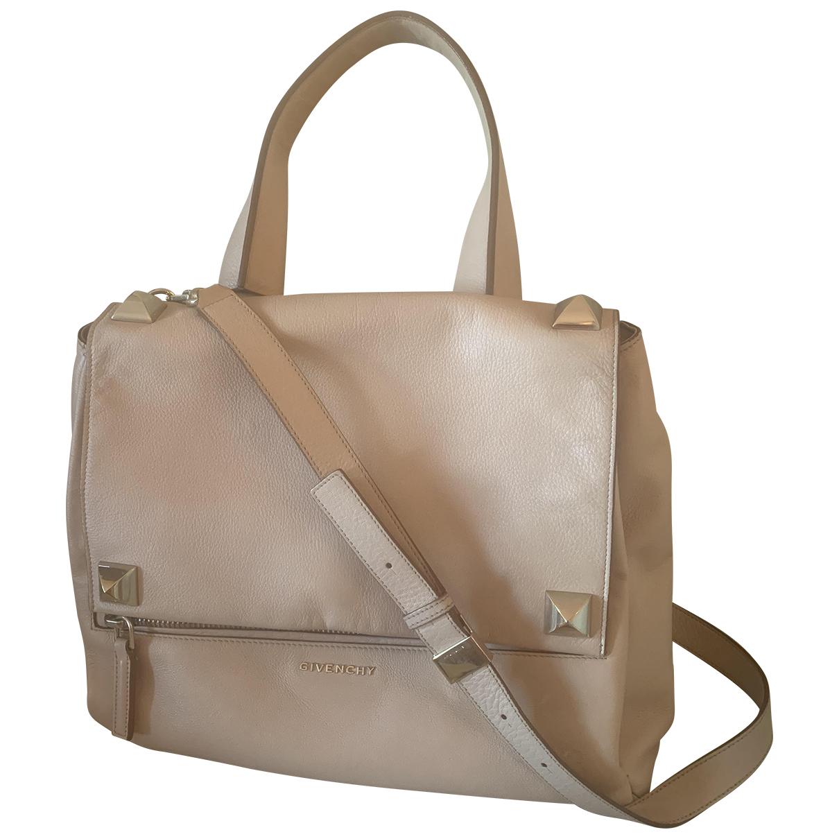 Givenchy Pandora Ecru Leather handbag for Women N