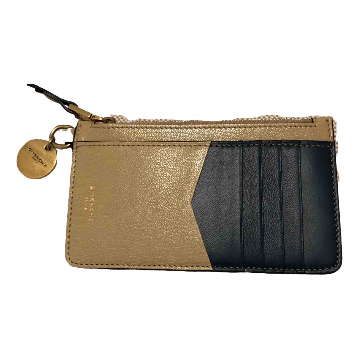 Givenchy \N Ecru Leather wallet for Women \N