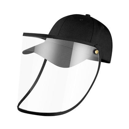Kids Sun Baseball Hats Full Face Adjustable Cap with Removable Plastic Visor