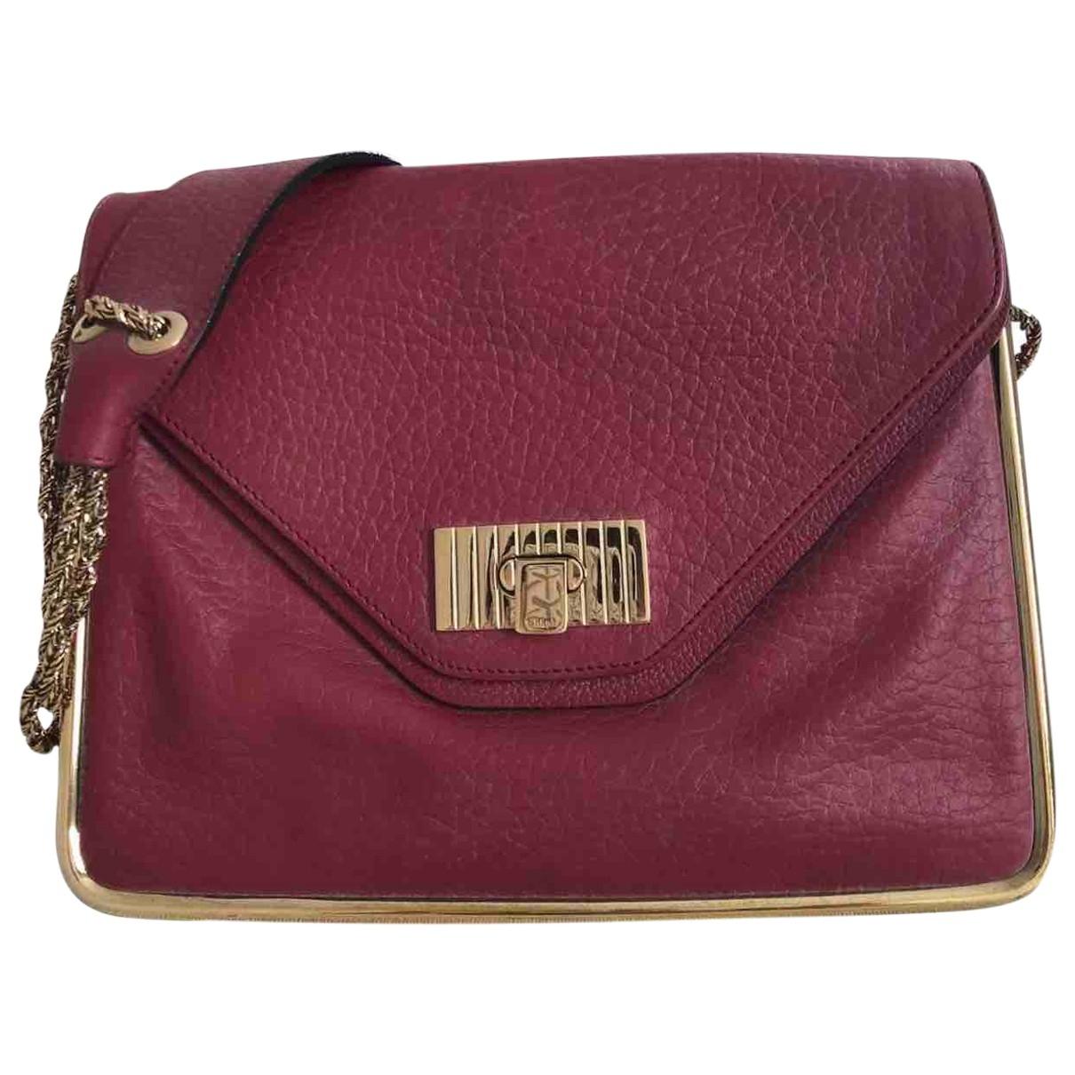 Chloé Sally Red Leather handbag for Women \N