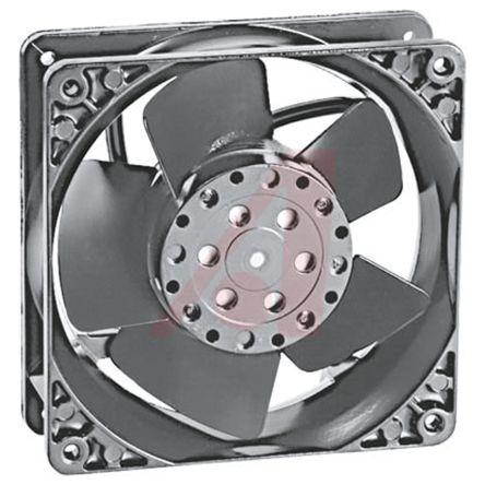 ebm-papst , 115 V ac, AC Axial Fan, 119 x 119 x 38mm, 180m³/h, 18W
