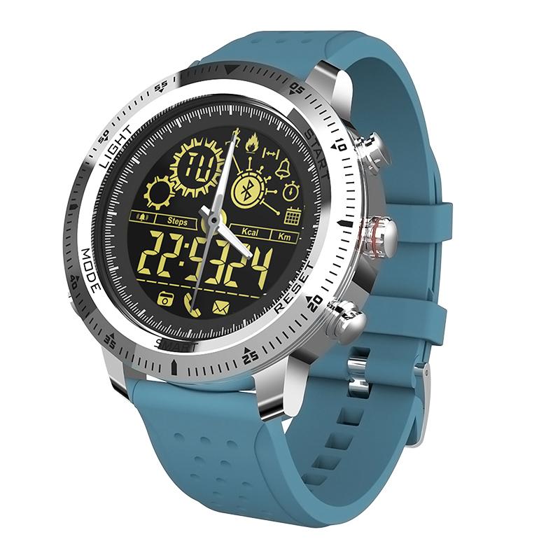 Remote Control Fitness Tracker Passometer Alarm Clock Smart Watch
