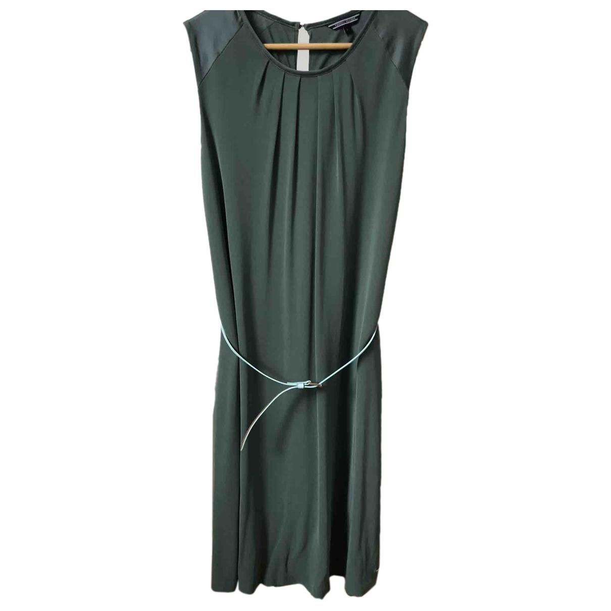 Tommy Hilfiger - Robe   pour femme en coton - vert