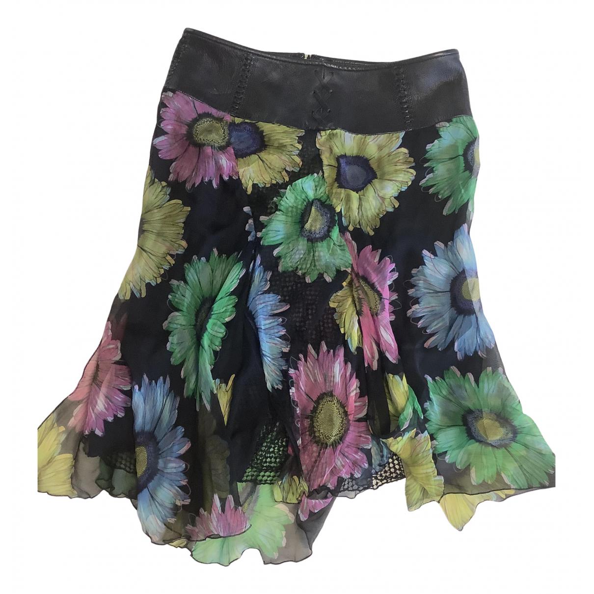 Gianni Versace - Jupe   pour femme en soie - multicolore
