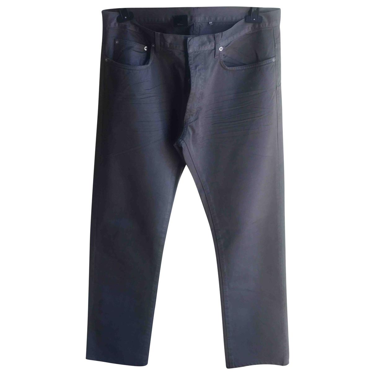 Dior Homme \N Grey Cotton Jeans for Men 34 UK - US