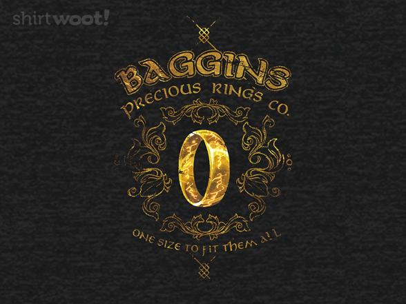 Baggins Precious Rings T Shirt