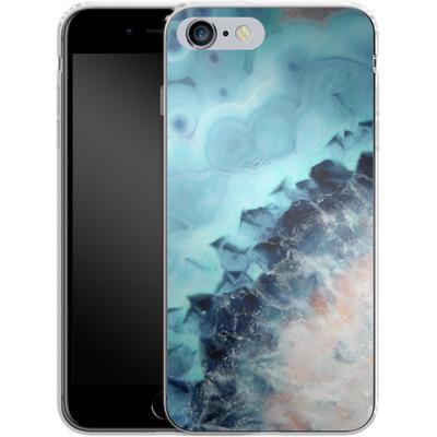Apple iPhone 6 Plus Silikon Handyhuelle - Ocean Agate von Emanuela Carratoni