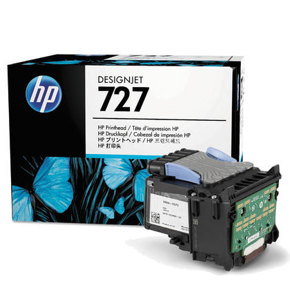 HP 727 B3P06A tête d'impression originale 6-couleur