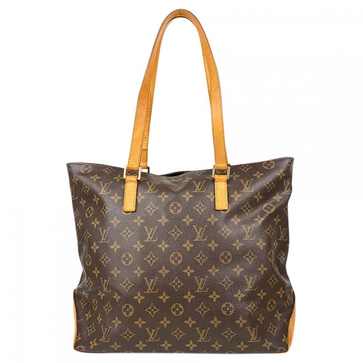 Louis Vuitton - Sac a main Mezzo  pour femme en toile - marron