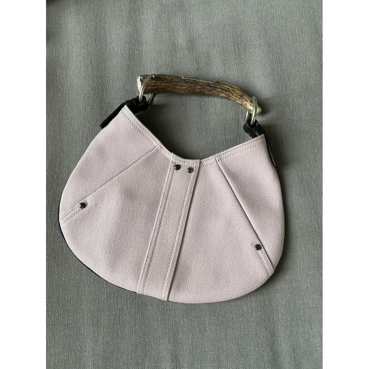 Yves Saint Laurent Mombasa Pink Cloth handbag for Women \N