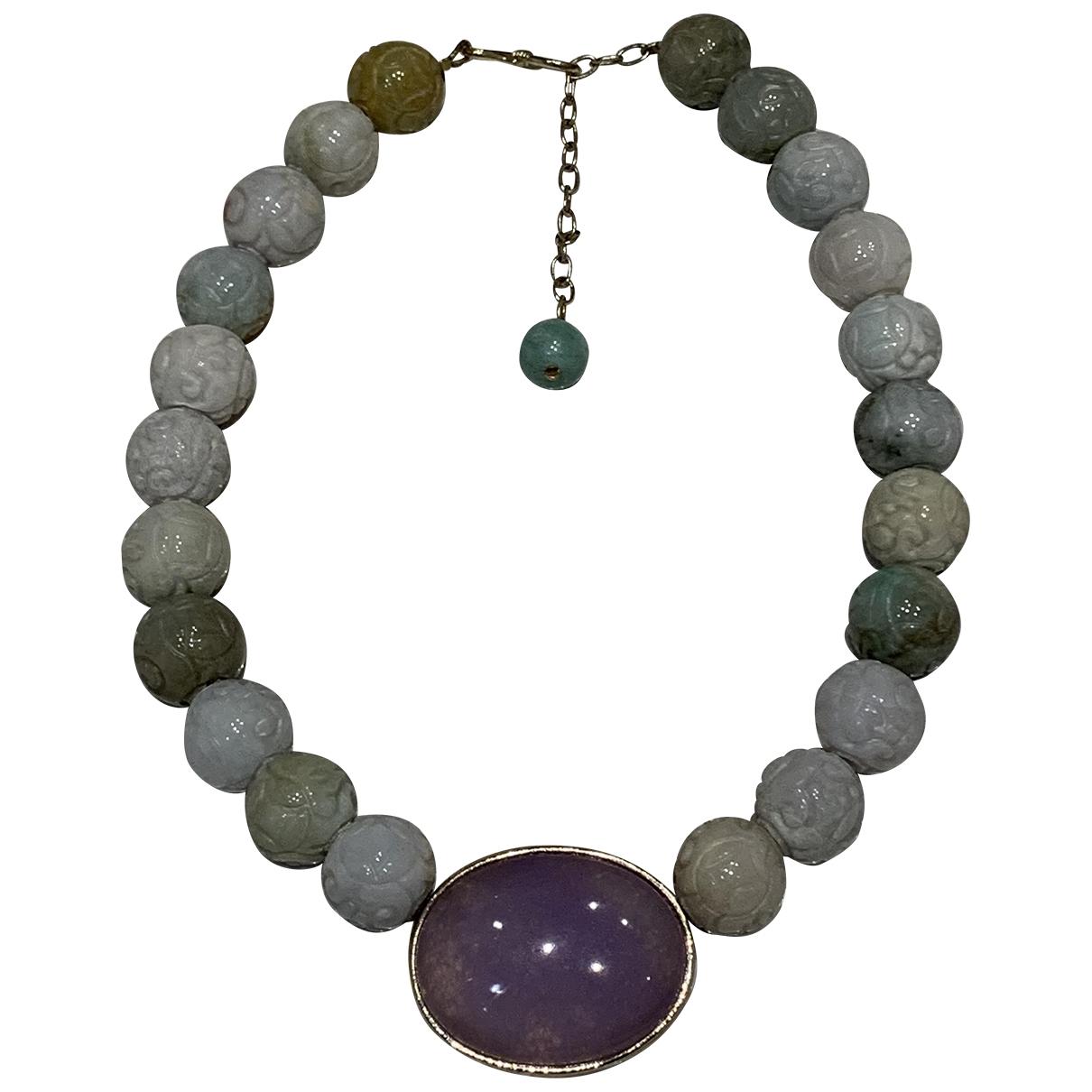Philippe Ferrandis \N Green Metal necklace for Women \N