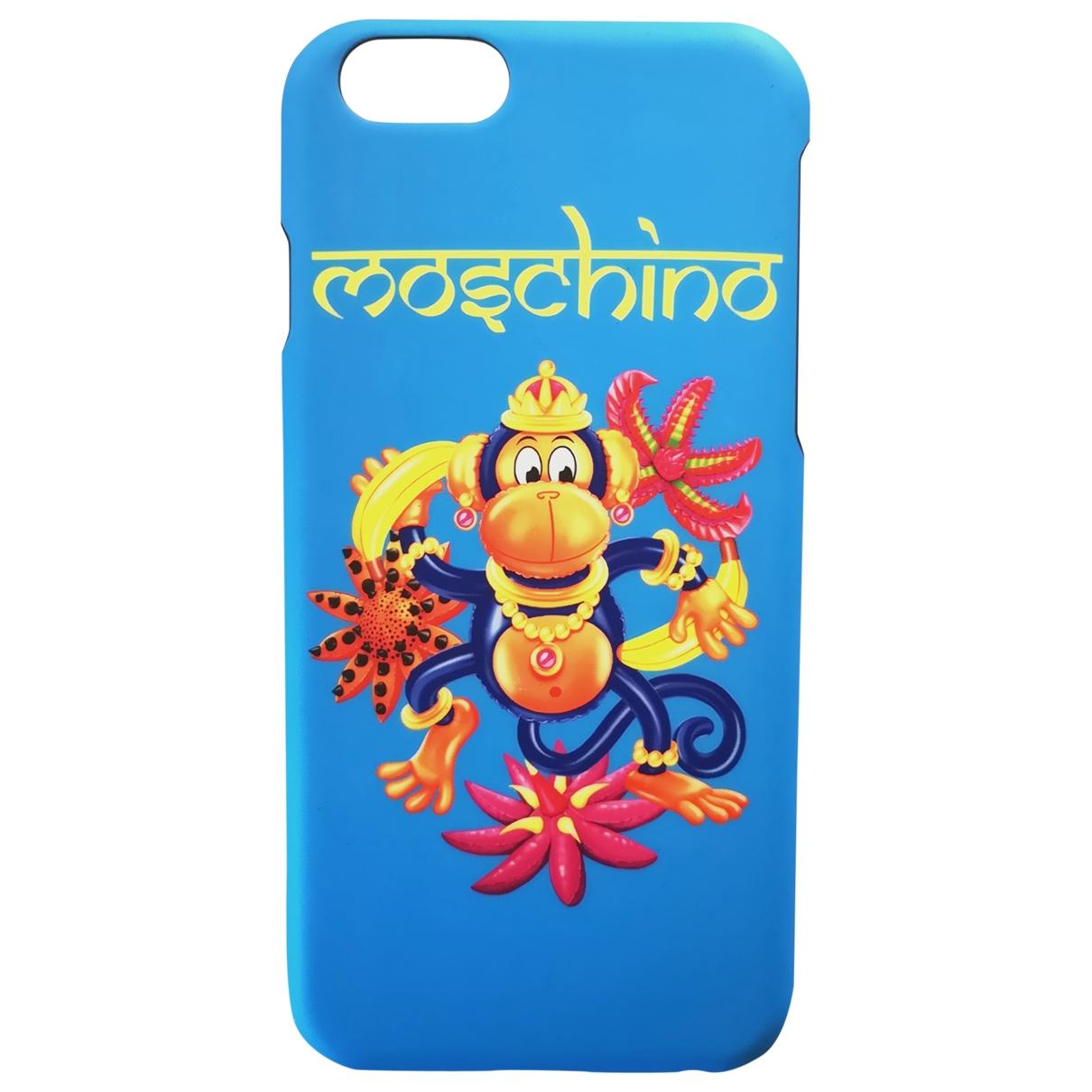 Moschino \N Accessoires in  Blau Kunststoff