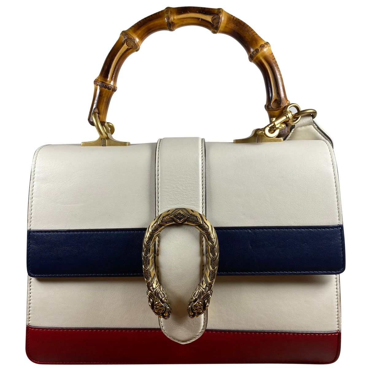 Gucci Dionysus White Leather handbag for Women \N