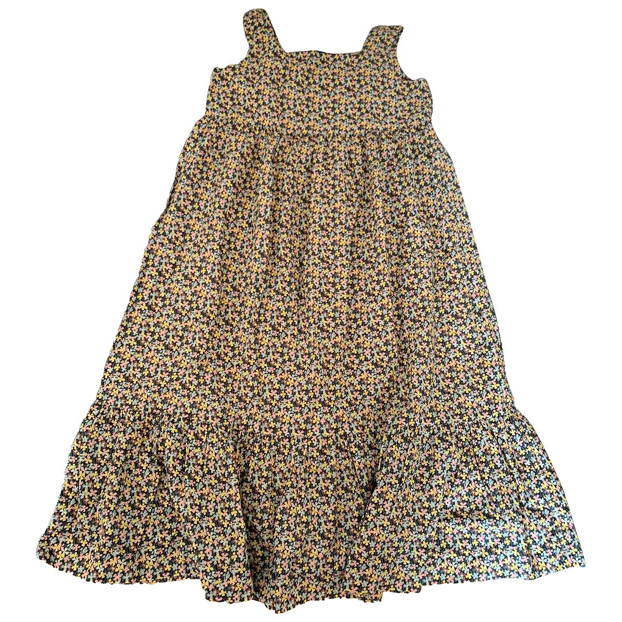 Bonpoint - Robe    pour enfant en coton - vert