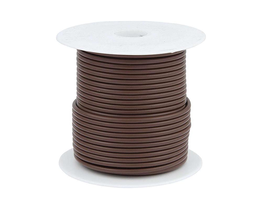 Allstar Performance ALL76515 20 AWG Brown Primary Wire 100ft ALL76515