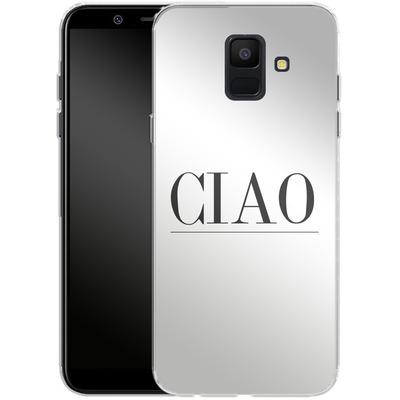 Samsung Galaxy A6 Silikon Handyhuelle - Just CIAO! von Erik Scholz