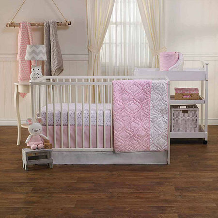 Living Textiles Penelope Baby Blankets, One Size , Pink