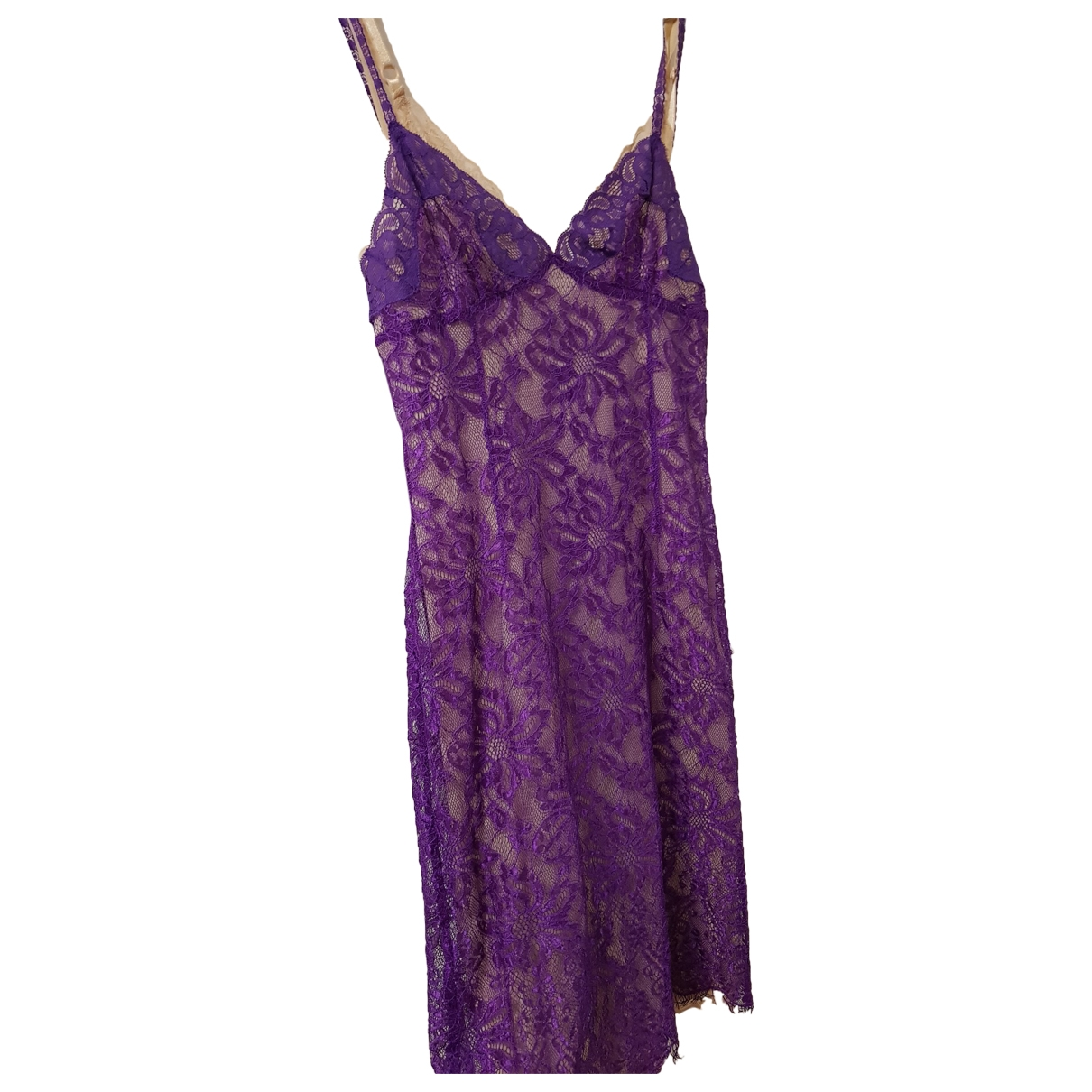 D&g \N Purple Lace dress for Women 38 FR