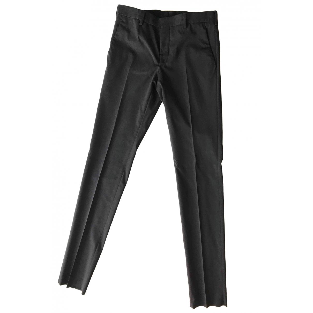 Prada \N Grey Wool Trousers for Men 44 IT