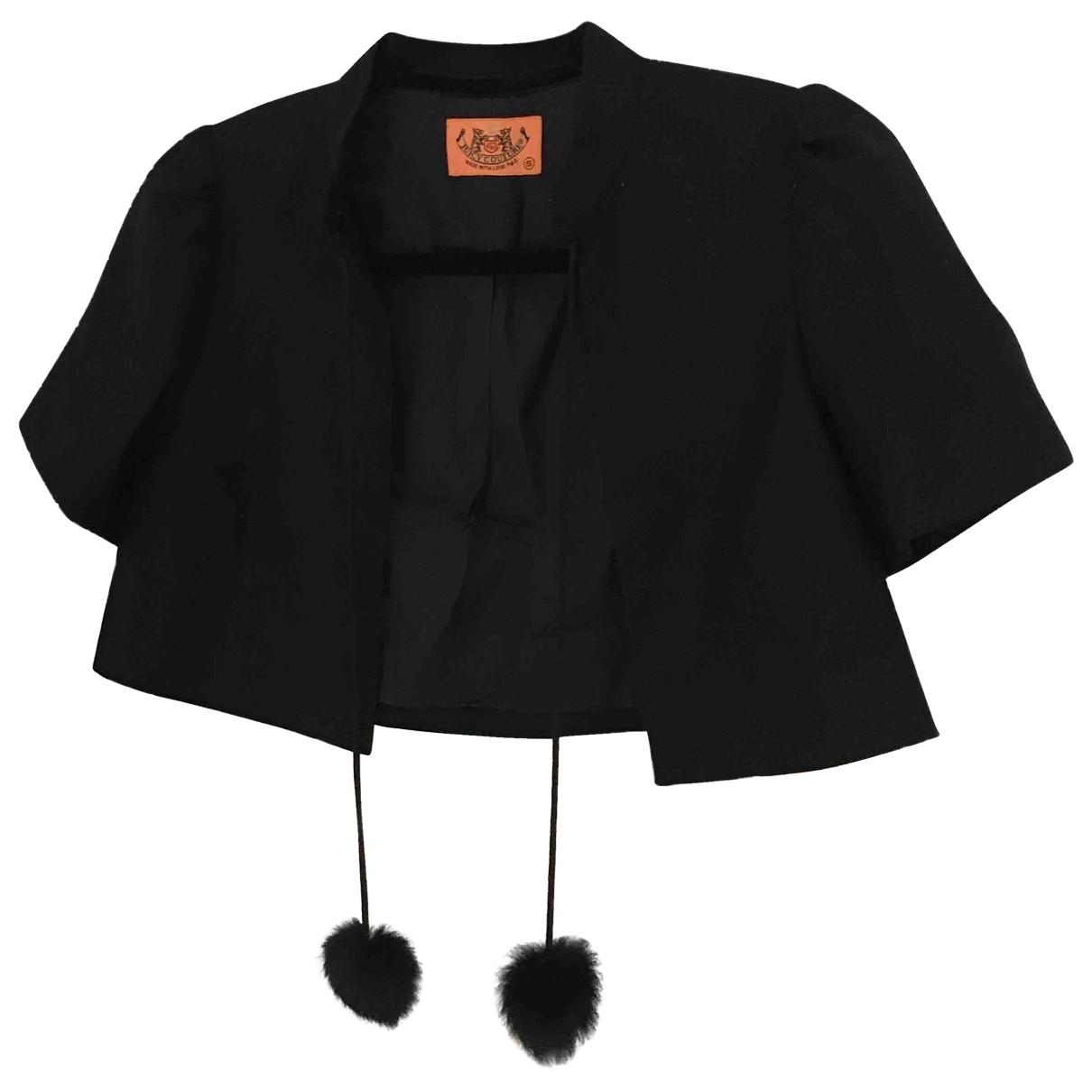 Juicy Couture \N Black Wool jacket for Women S International