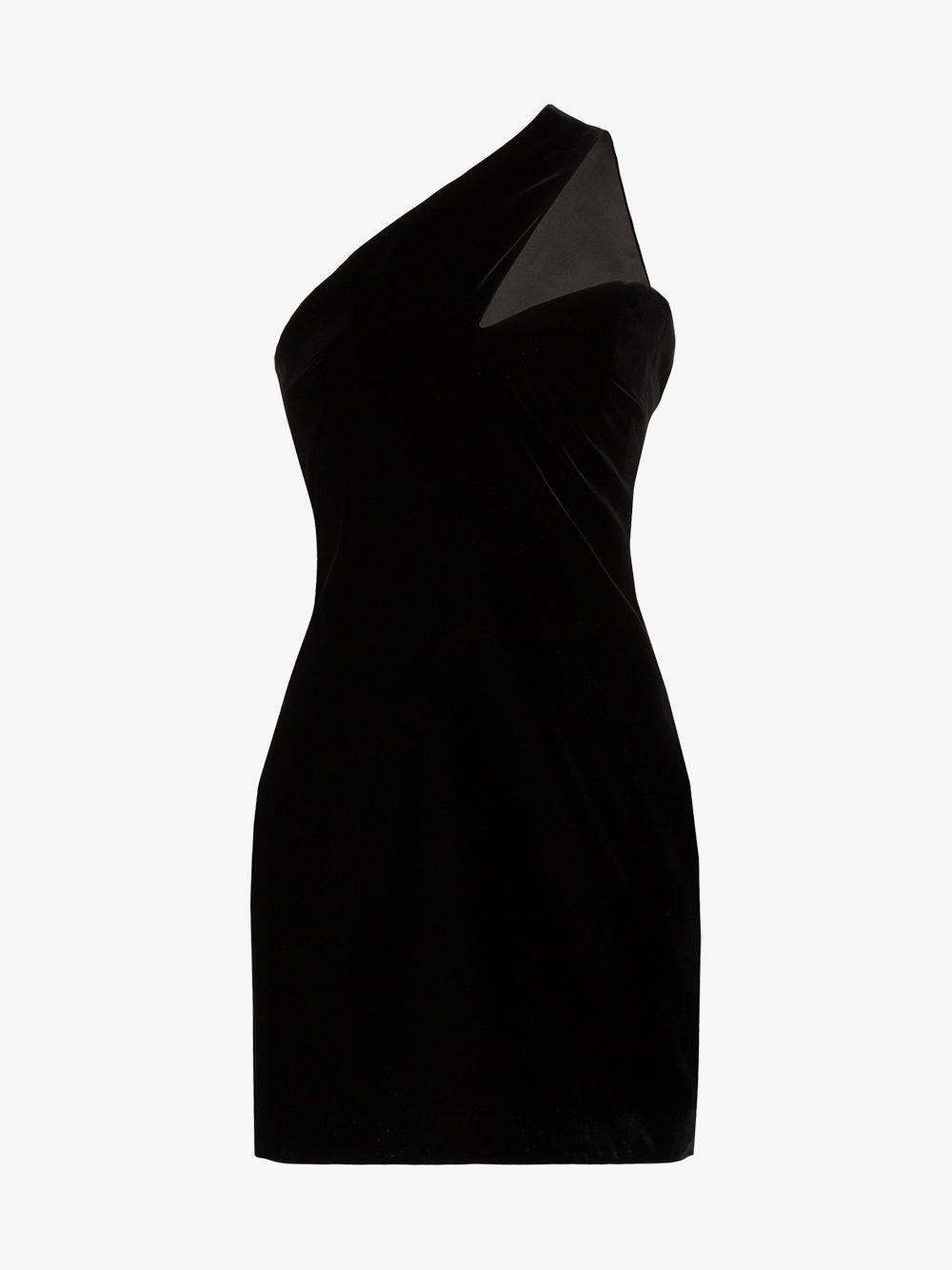 One-shoulder Short Dress