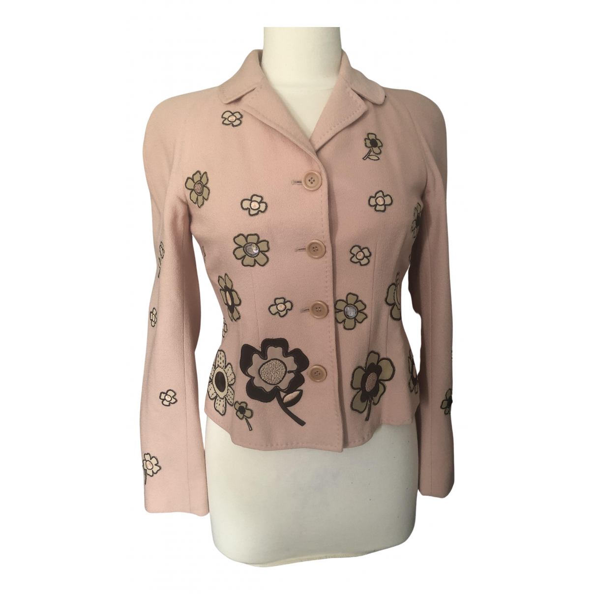 Moschino Cheap And Chic N Wool jacket for Women 36 FR