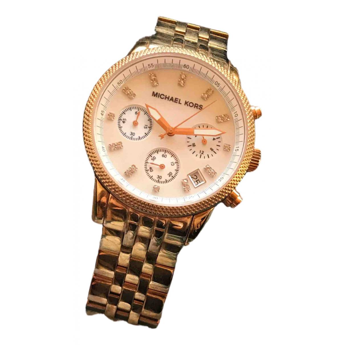 Michael Kors N Metallic Steel watch for Women N
