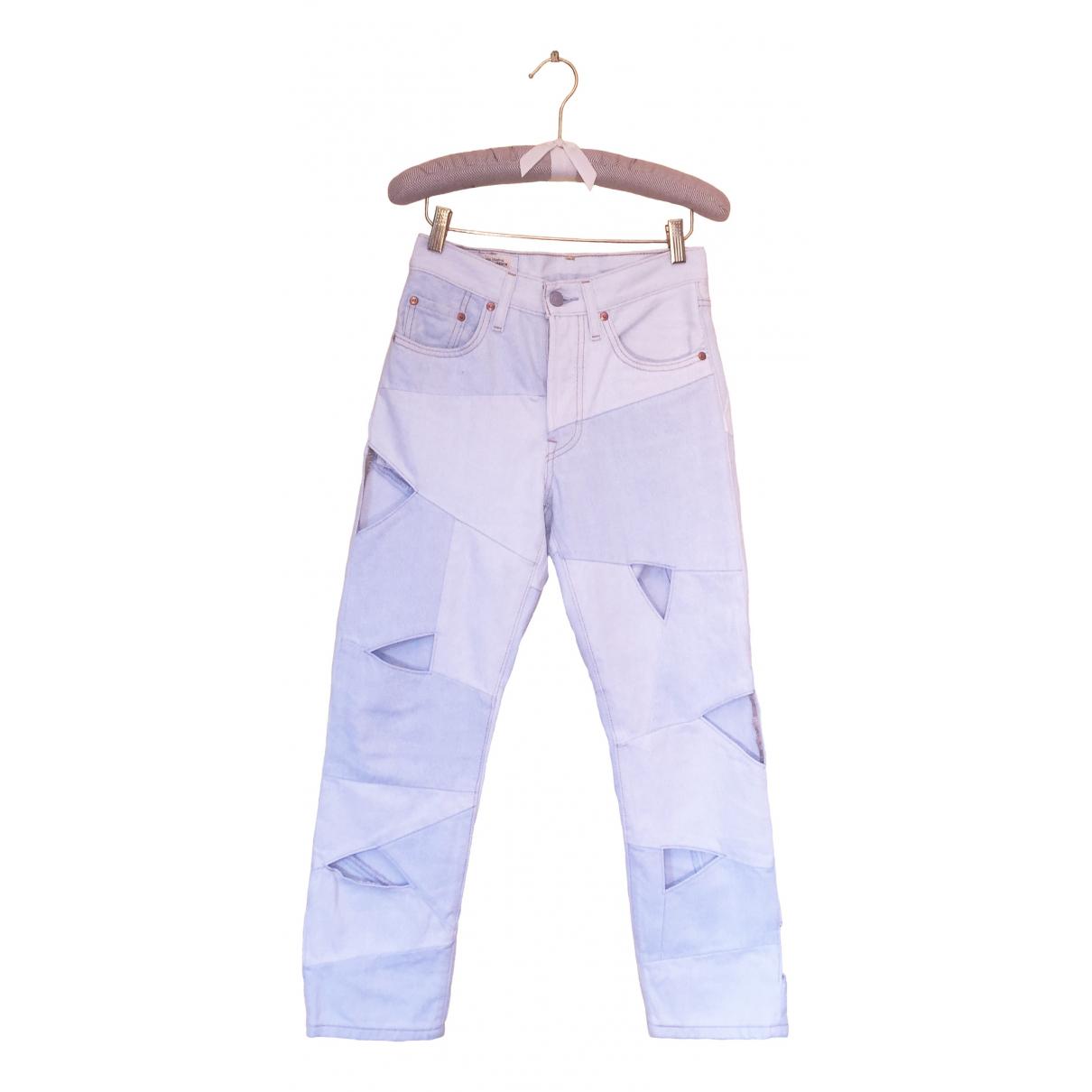 Levi's 501 Blue Denim - Jeans Jeans for Women 24 US