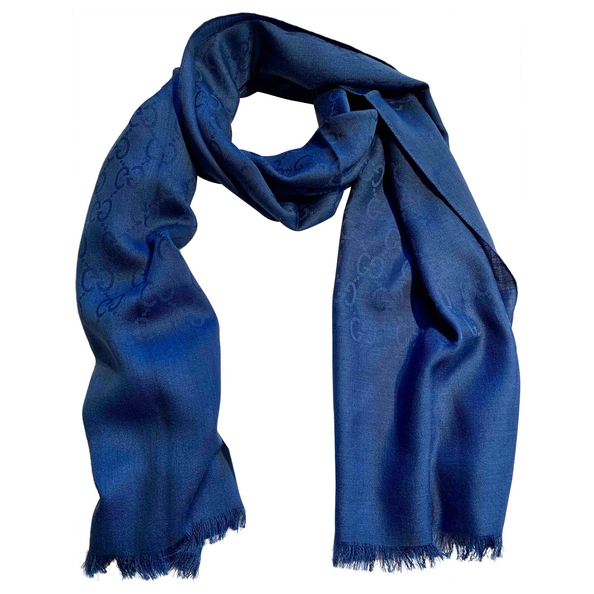 Gucci \N Schal in  Blau Wolle