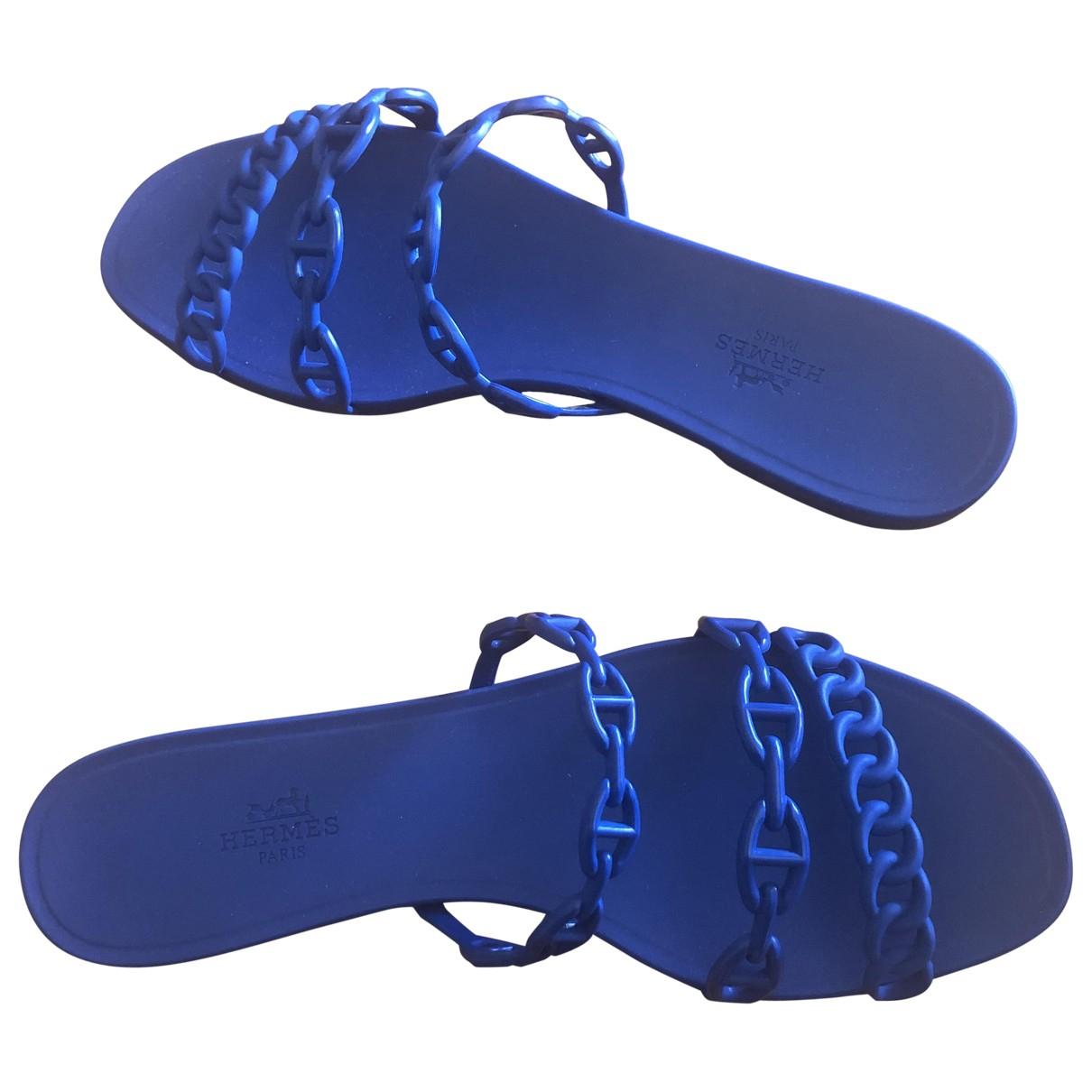 Hermes - Sandales Rivage pour femme - bleu