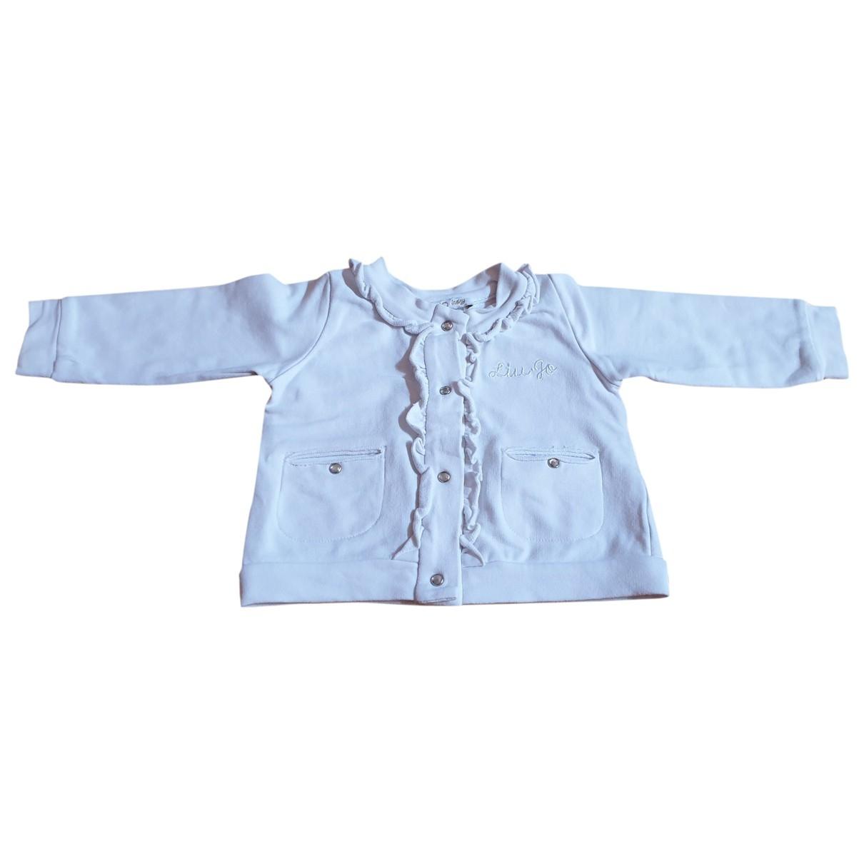 Liu.jo - Blousons.Manteaux   pour enfant en coton - blanc