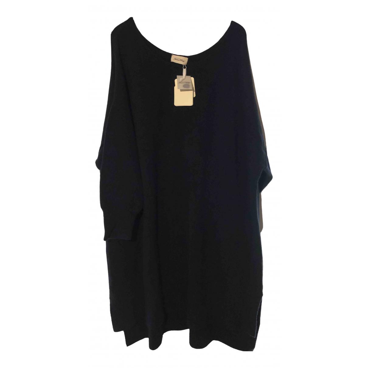American Vintage \N Kleid in  Marine Wolle