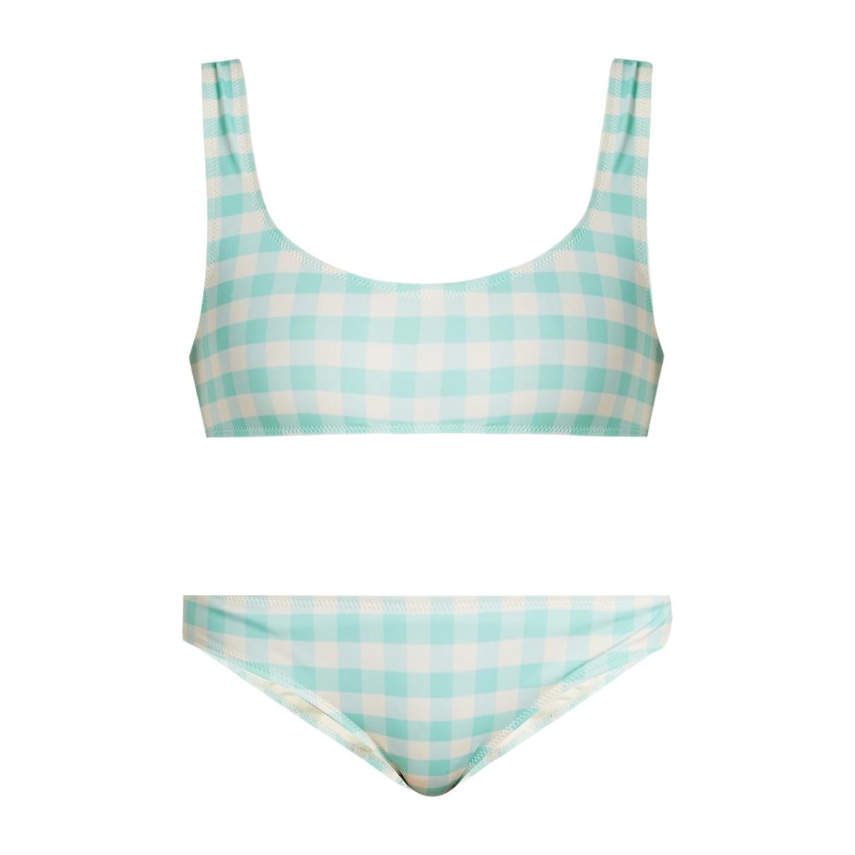 Solid & Striped \N Badeanzug in  Blau Baumwolle - Elasthan