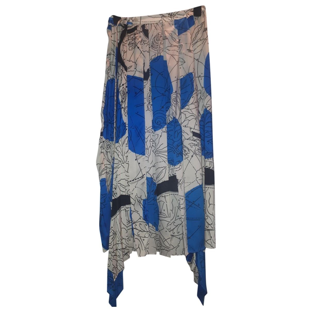 Zara \N Rocke in  Blau Polyester