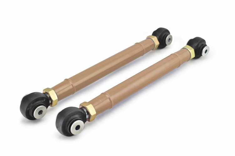 Steinjager J0047343 Control Arms, Rear Lower Wrangler TJ 1997-2006 Double Adjustable, Heim Style 0-6 Inch Lift Military Beige