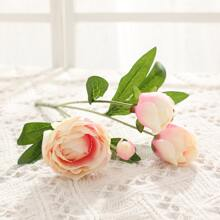 1branch Artificial Flower With 4pcs Head