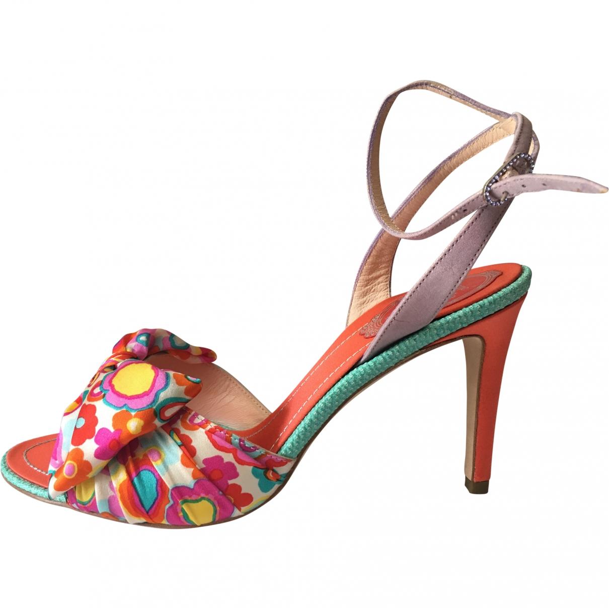 Rene Caovilla \N Multicolour Leather Sandals for Women 38 EU
