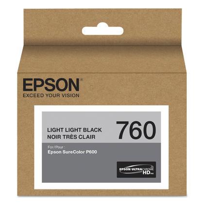 Epson 760 T760920 cartouche d'encre originale noir très clair
