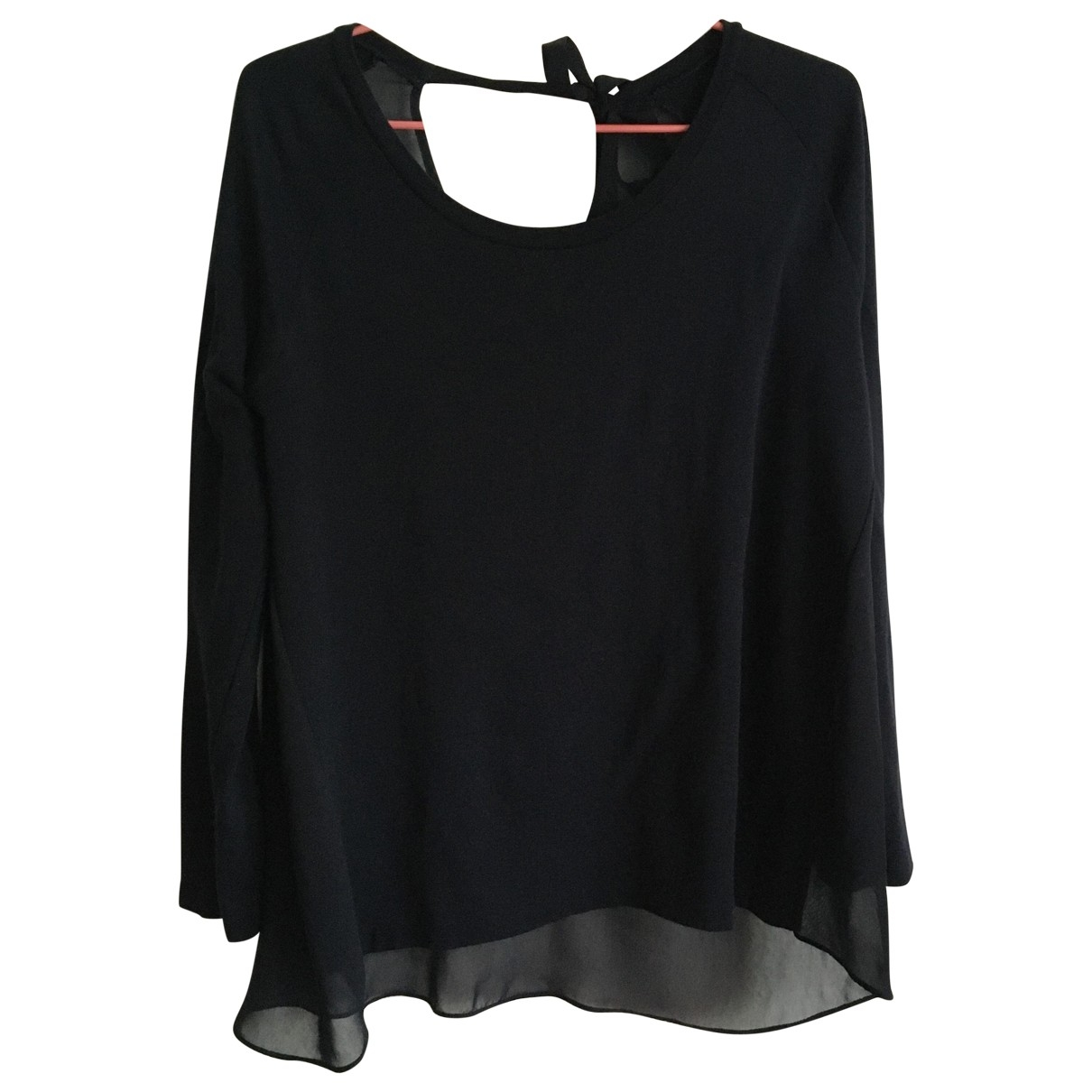 Claudie Pierlot \N Top in  Schwarz Viskose