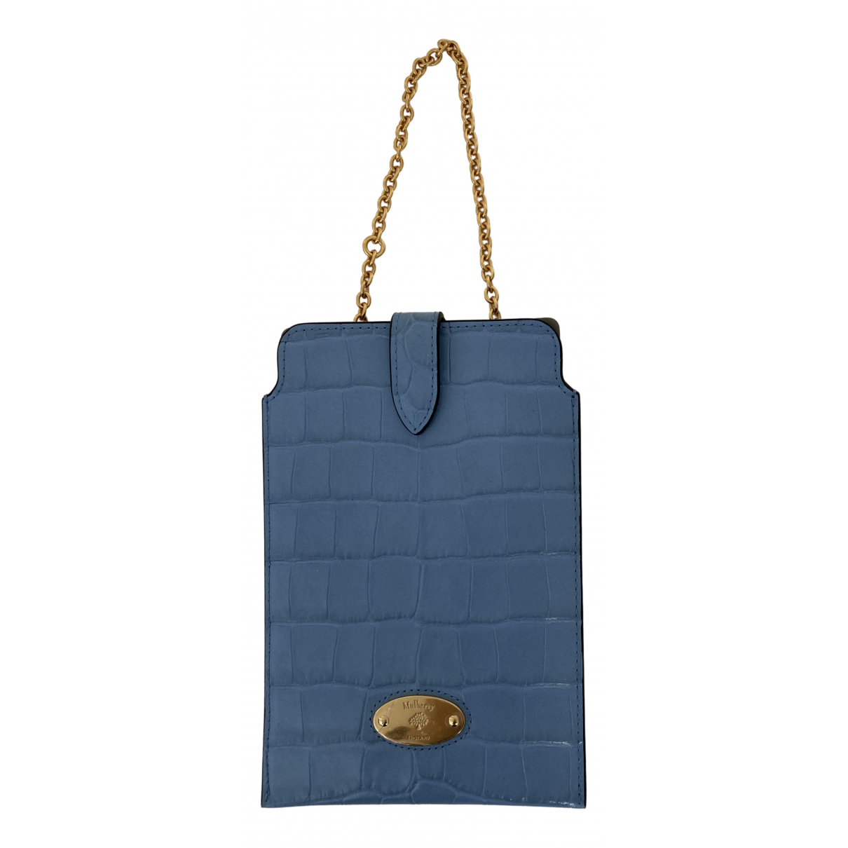 Mulberry N Blue Leather Purses, wallet & cases for Women N