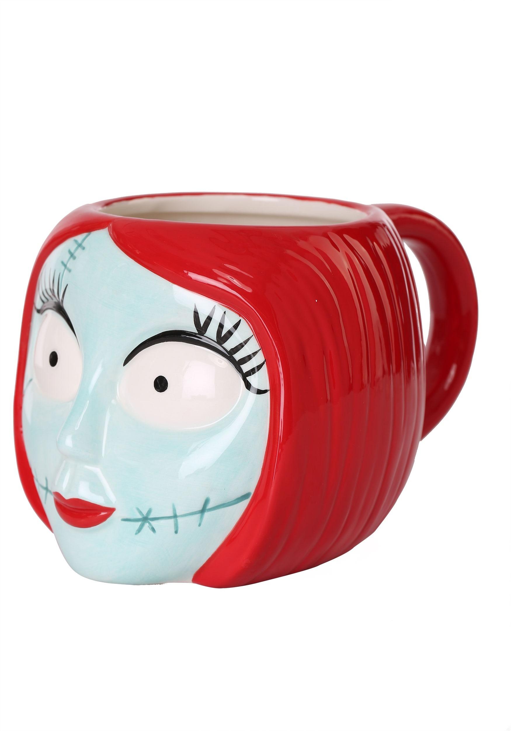 Nightmare Before Christmas Sculpted Ceramic Sally Mug