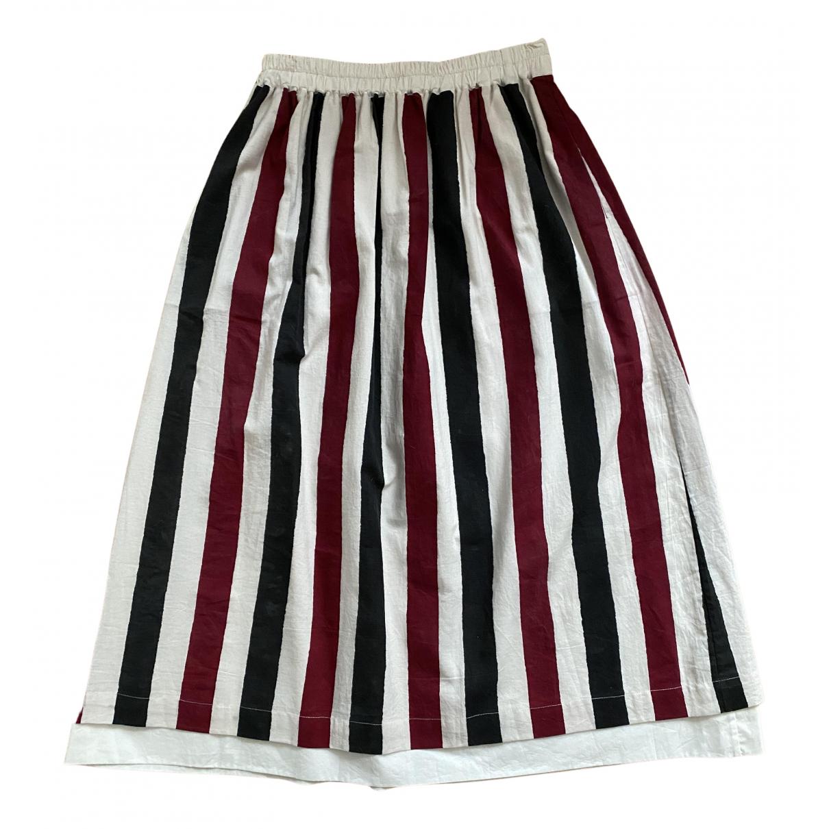 Renli Su N Multicolour Cotton skirt for Women S International